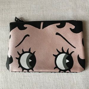 BETTY BOOP IPSY COSMETIC CASE POUCH NWOT